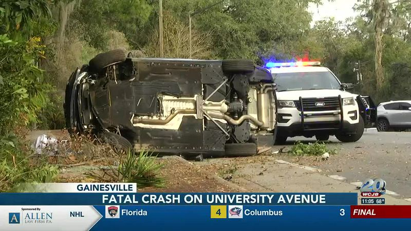 New details on fatal crash on University Avenue