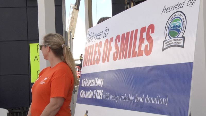 Miles of Smiles event