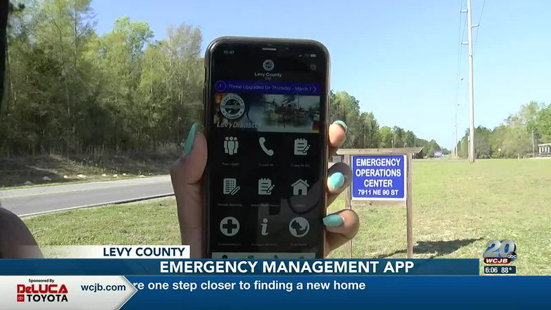 Emergency Management app Levy County