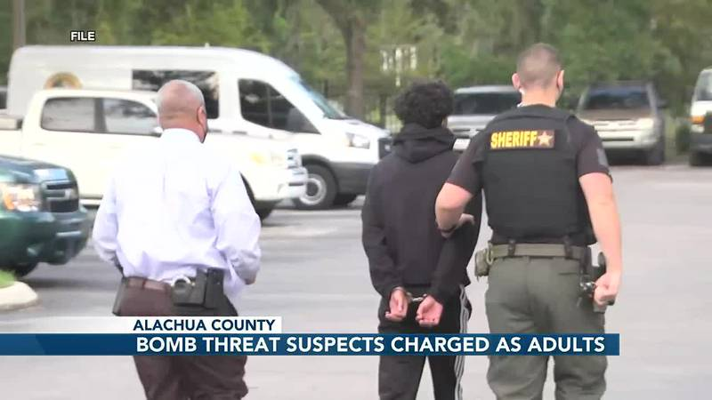 UPDATE: Reduced bonds for two teens charged as adults for making bomb threats