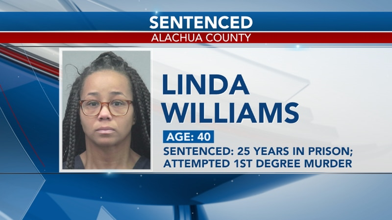 Williams is also charged with fraud for trying to steal from her workplace.