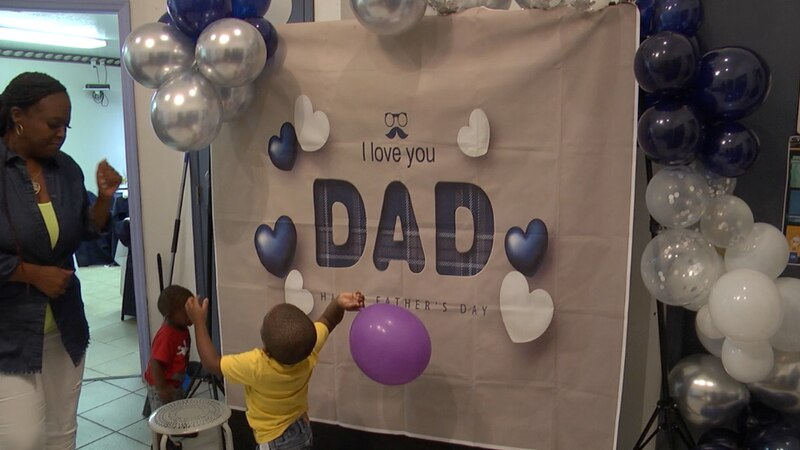 The Greater Grace Missionary Baptist Church celebrates Father's Day.