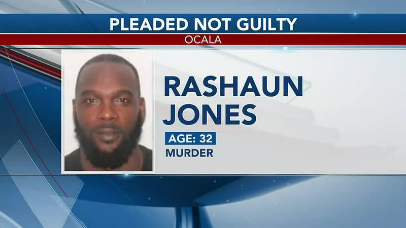 Rashaun Jones pleads not guilty