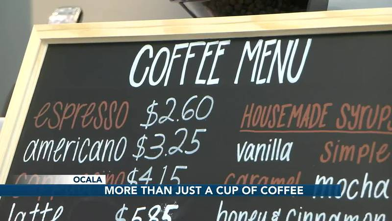 Coffee shop opens at Ocala hospital, bringing light to dark times