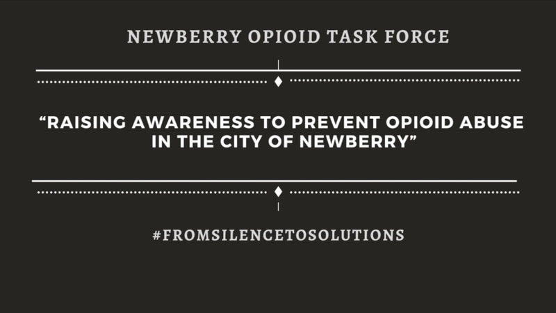 Newberry's Opioid Task Force to host kickoff event