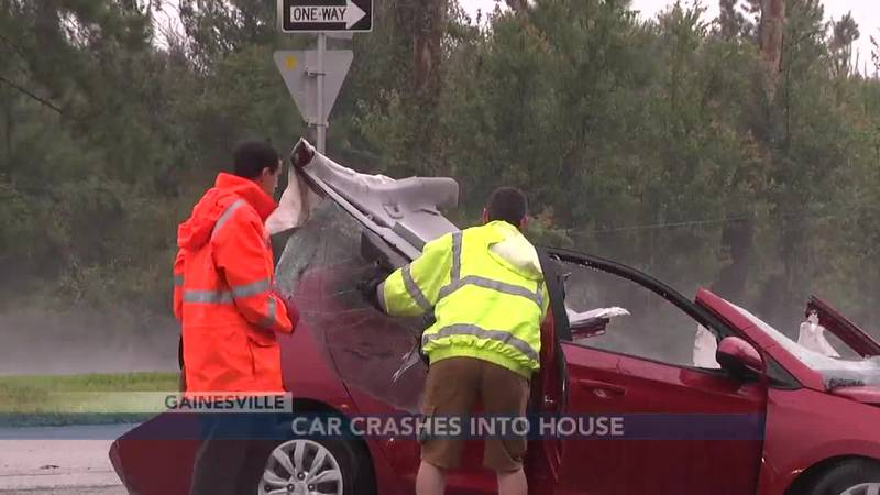 """""""It's devastating, literally devastating""""; two-car accident forces truck to run into a..."""