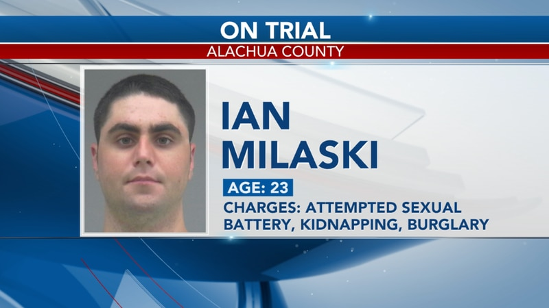 The jury trial of former University of Florida resident assistant Ian Mileski is underway this...