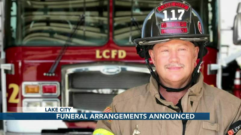 Funeral arrangements announced for Lake City fire chief