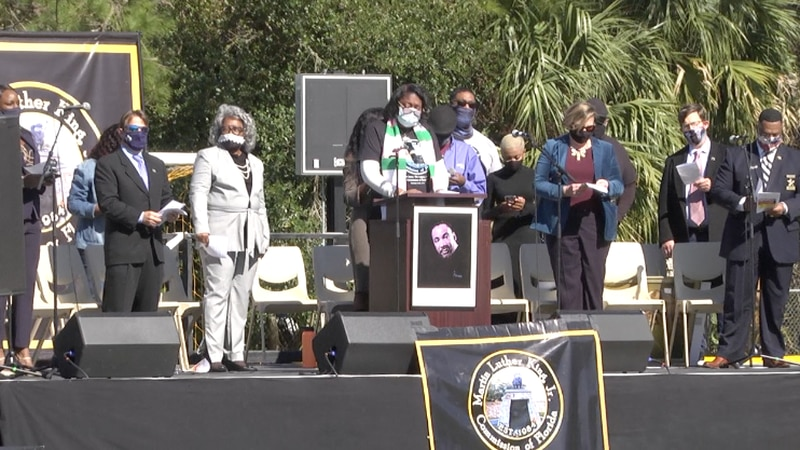 Residents join to honor and celebrate Dr. Martin Luther King Jr.'s legacy