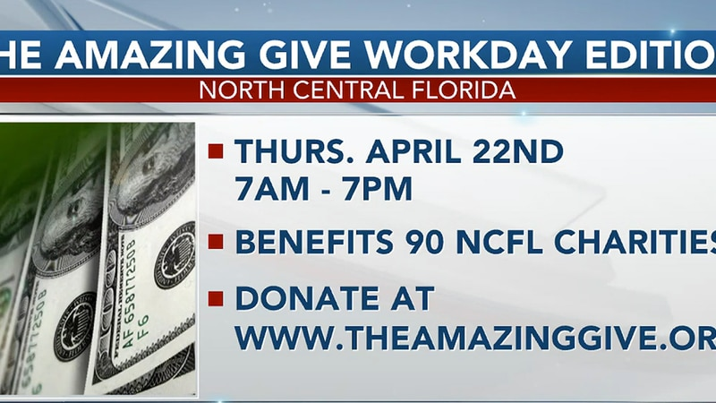 Amazing Give to raise money for more than 90 North Central Florida charities