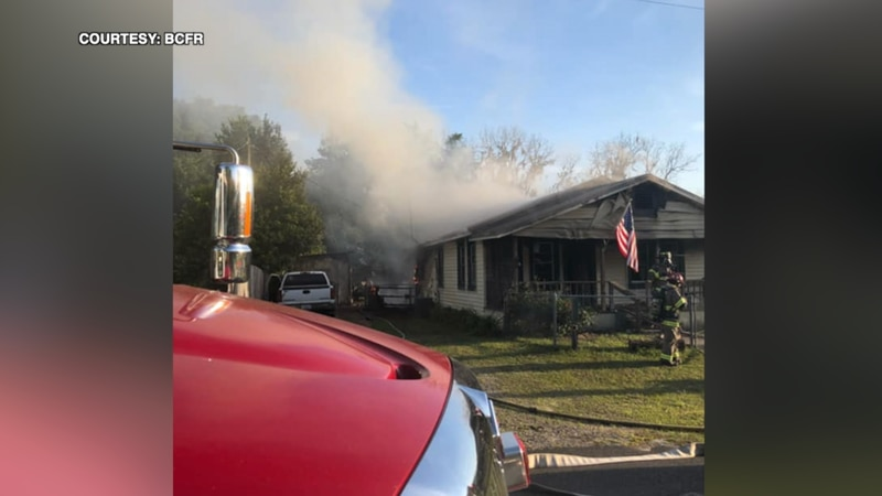 Bradford County Fire Rescue crews responded to a call in Brooker and put out a fire at a home.