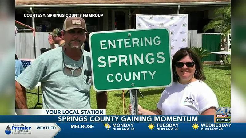 North Central Florida residents are attempting to create a new county.