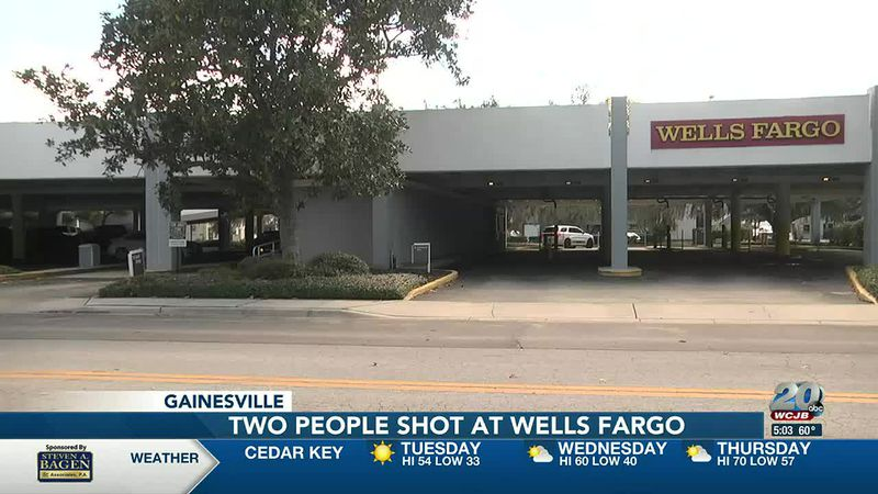 Two people shot at Gainesville Wells Fargo parking lot find unusual transportation to hospital