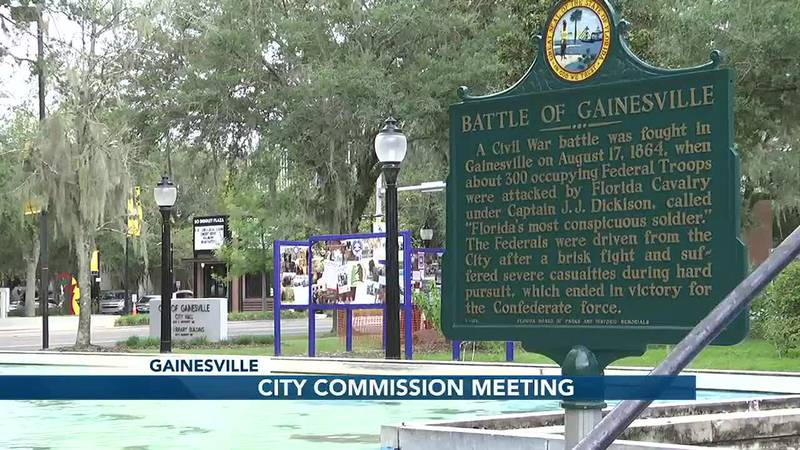 The Gainesville City Commission meet to discuss shift from weak mayor system