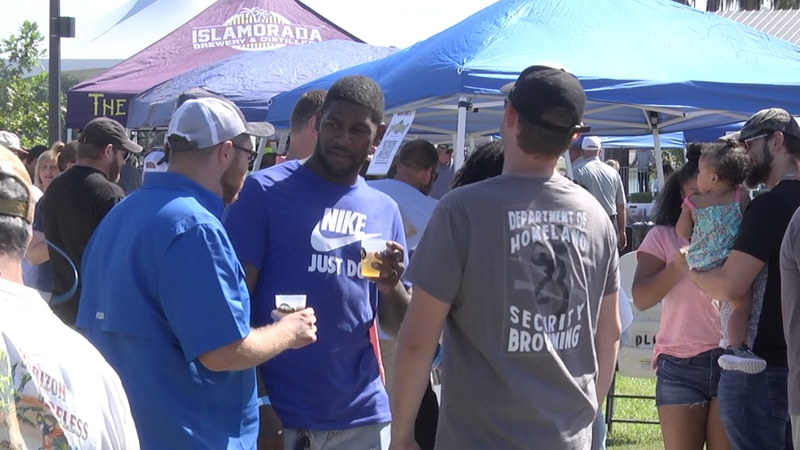 Craft beers, wine and seltzers will available to taste test.