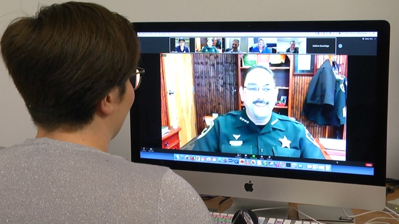 Marion County Sheriff Billy Woods spoke on a lack of internet access could become a public...
