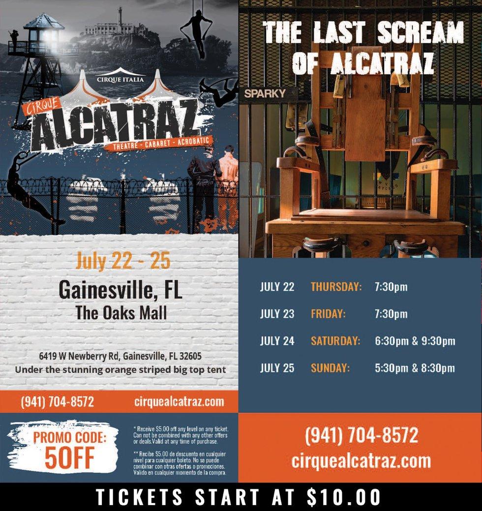 Cirque Alcatraz: Rated R circus comes to NCFL