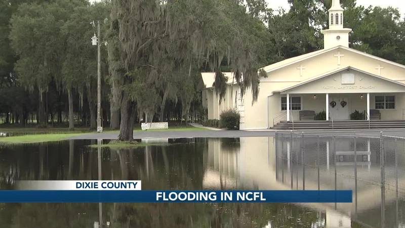 Flooding in Dixie County may worsen this week as heavy rainfall looms