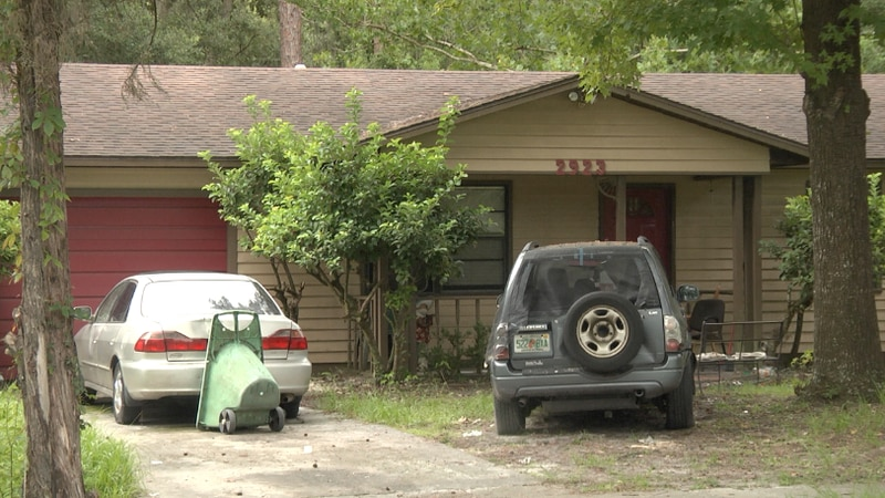 The father and son lived on NE 9th St. in Gainesville, where neighbors say they heard abuse...