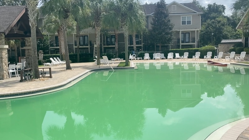 Pandemic-related shortages causing some pool services to sink