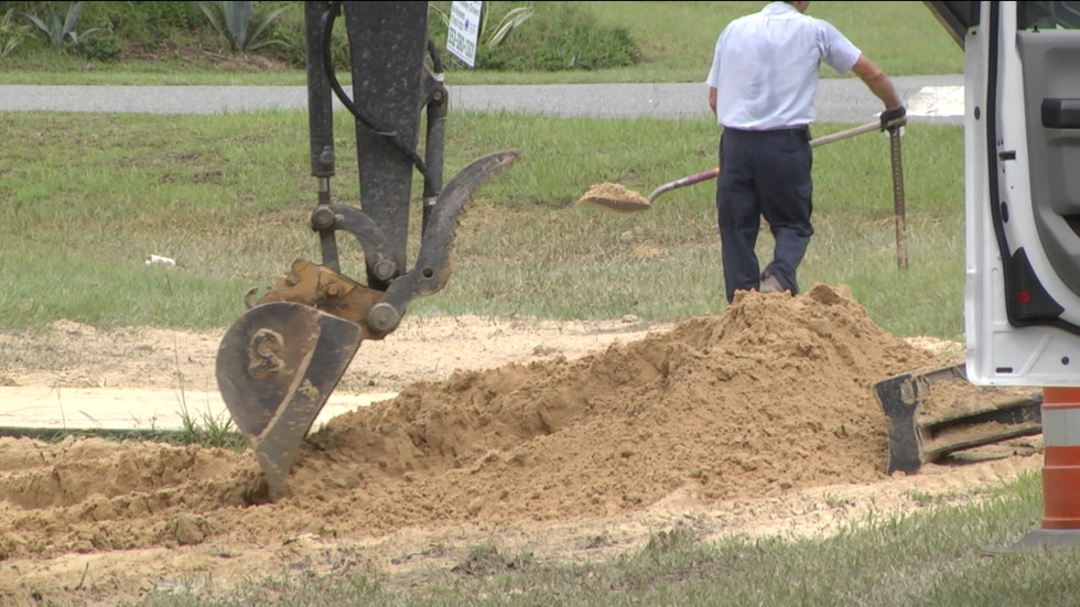 A neighborhood in Silver Springs Shores flooded over the holiday weekend due to a water main break, impacting the community's drinking water.