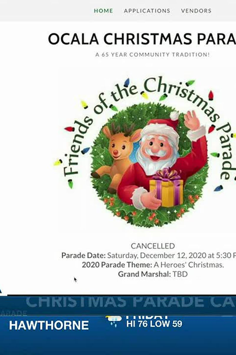 Ocala Christmas Parade 2021 Ocala Christmas Parade Is Now Canceled