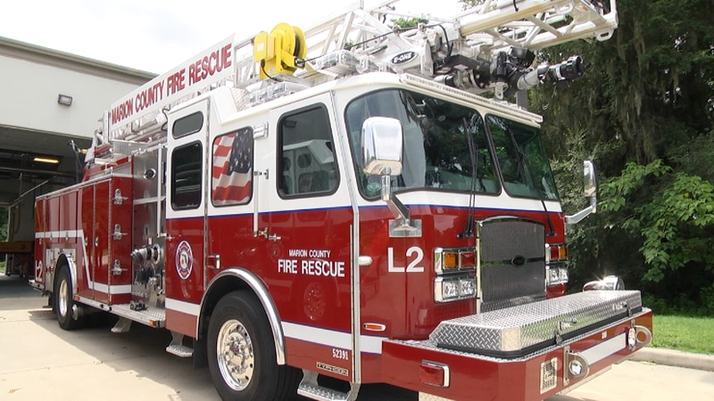 Paid for by the Penny Sales Tax, the new piece of fire equipment officially was put into...