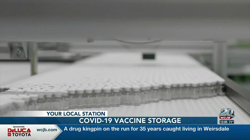 Five medical facilities in Florida will act as storage facilities for COVID-19 vaccines