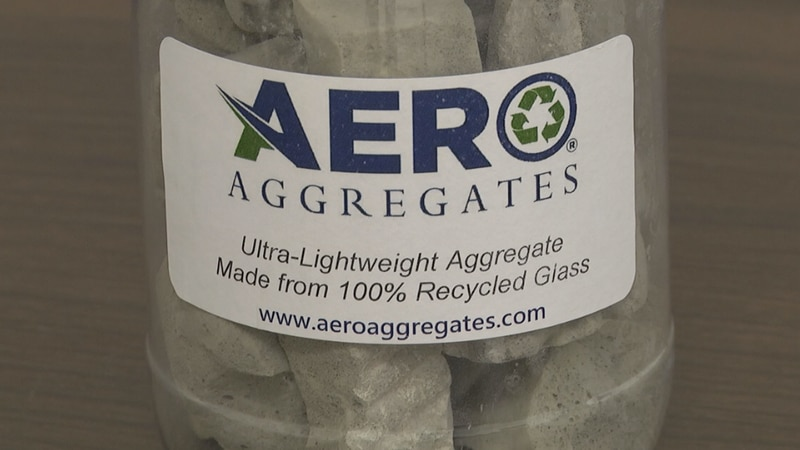Turns recyclable glass into lightweight foamed glass aggregates.