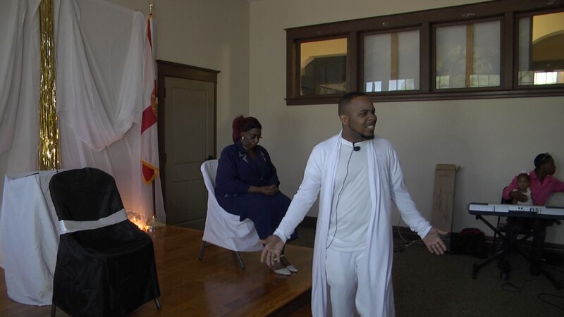 Alachua production company puts on Easter 'He Paid It All' mini play