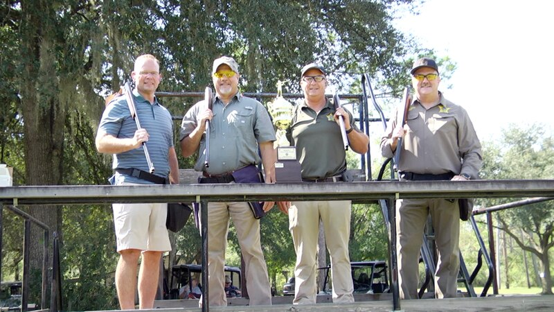 Clay Pigeons, barbecue and a nice friendly competition between area sheriffs highlighted this...