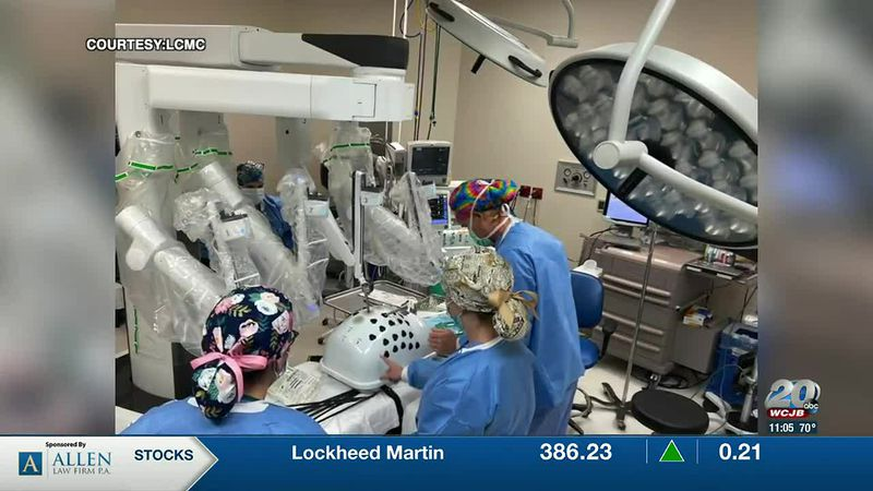 Lake City Medical purchases a surgical robot.