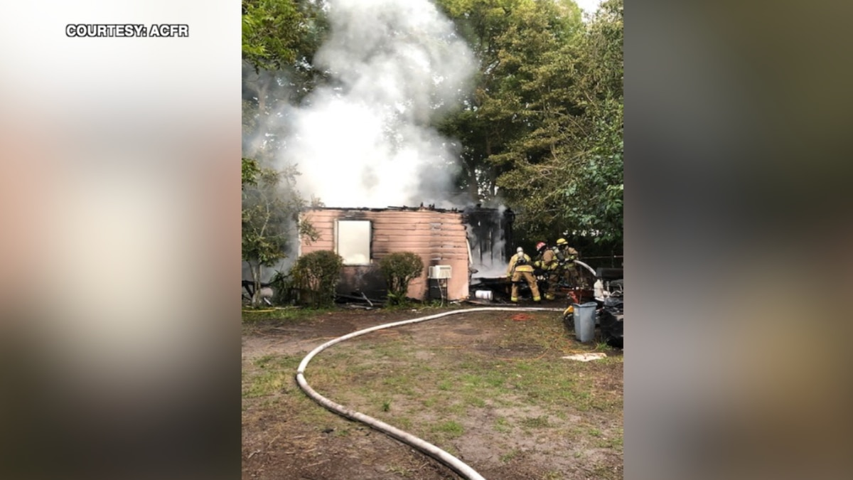 At around 7:45 Saturday evening Alachua County Fire Rescue responded to the blaze at the corner...