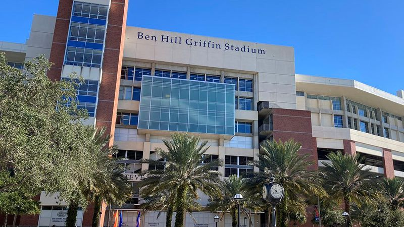Ben Hill Griffin Stadium in Gainesville, Fla.