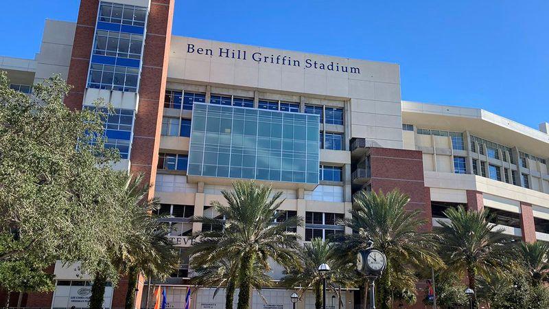 Ben Hill Griffin Stadium in Gainesville, Fla.