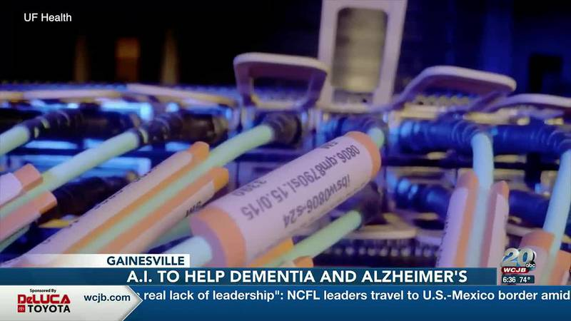 UF researchers using AI to develop treatment to prevent dementia