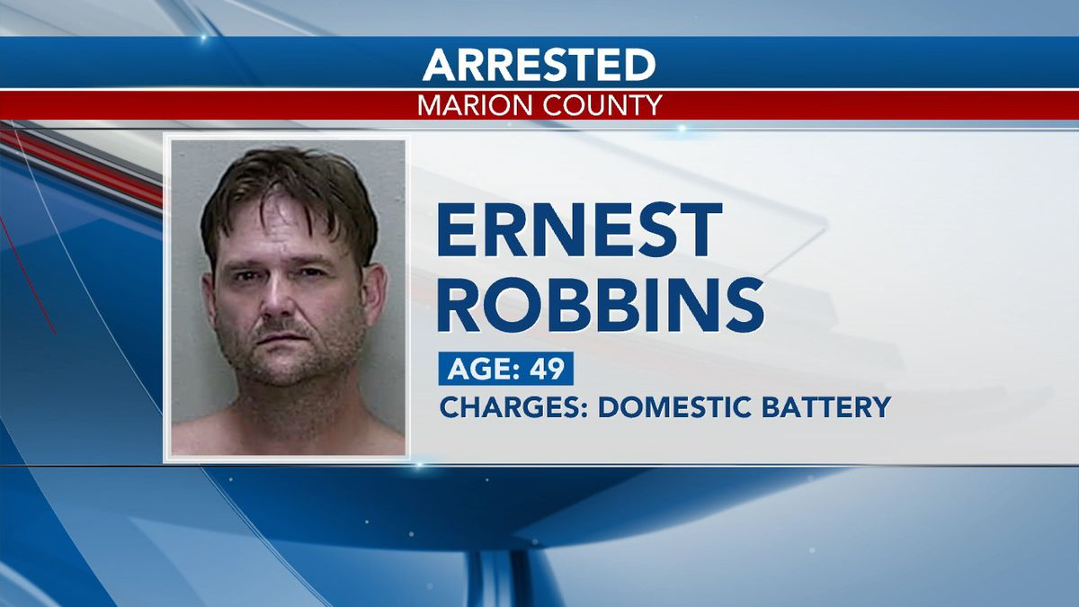 When deputies called Robbins, he threatened to hurt himself and refused to come out of his house.