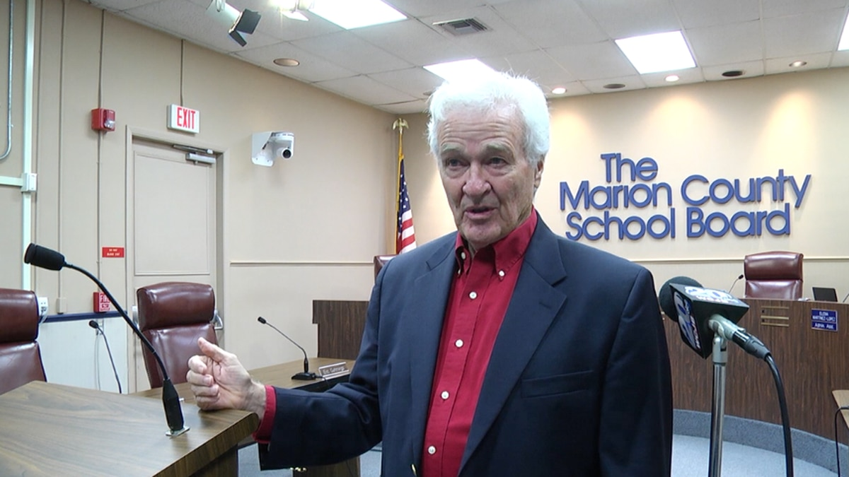 New Marion County School Board member in agreement with Gov. Ron DeSantis' ban on masking in...