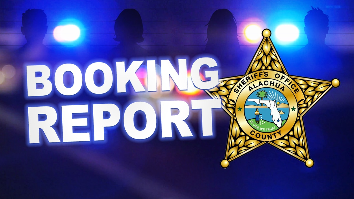 Alachua County Booking Report