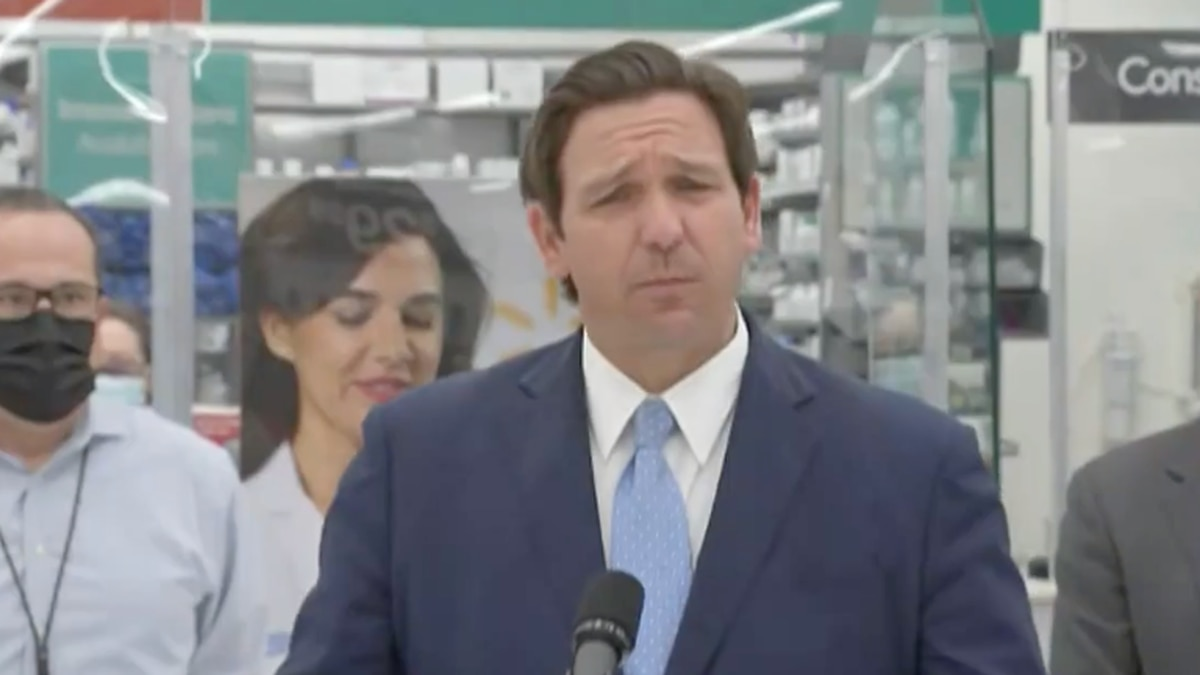 Florida Governor Ron DeSantis announces over 30% of Walmarts in the state of Florida will start...