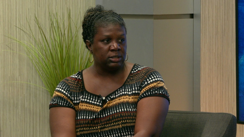 Sgt. James tells TV 20 why she filed a discrimination lawsuit at the federal level.