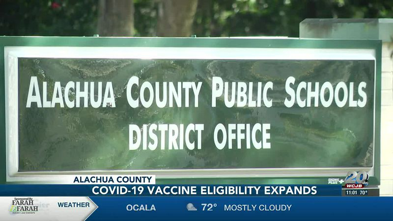 District, teacher union, pleased with Gov. DeSantis's latest order approving COVID-19 vaccine...