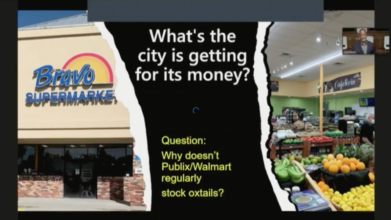 Entrepreneur Frederick Washington has come up with a $7M project to bring an updated grocery...