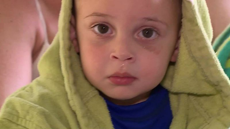 A 2-year-old was able to save himself from drowning thanks to swim lessons.