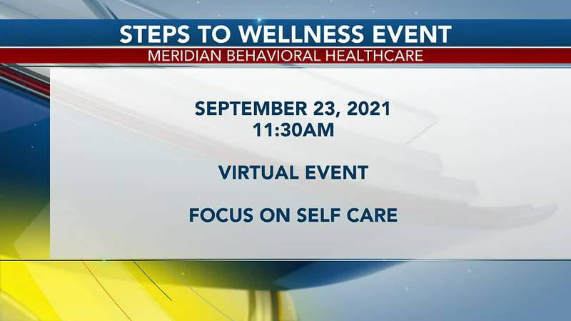 Meridian Behavioral Health Care hosts virtual Steps to Wellness event