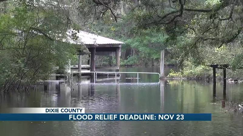 Deadline approaching for Dixie County residents seeking federal disaster relief