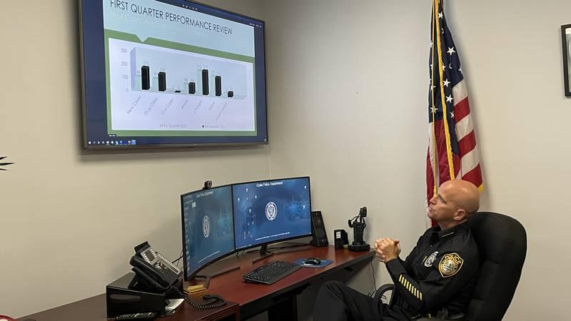 Ocala Police Chief Mike Balken explains what progress the Unified Drug Enforcement Strike Team...
