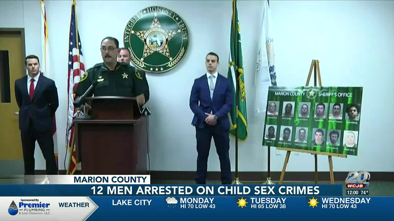 MCSO: A dozen men seeking sex with chidren arrested