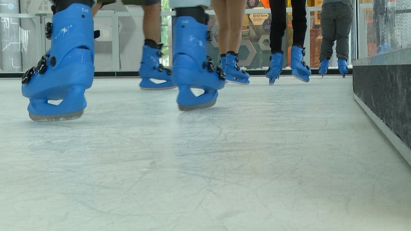 The Cade Museum has opened its new ice-skating attraction to guests with no extra cost other...