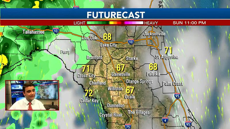 Strong storms possible overnight